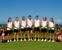 Vero Beach Lady Indian Golf Team